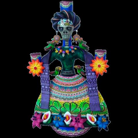 artesanias Candelero Frida