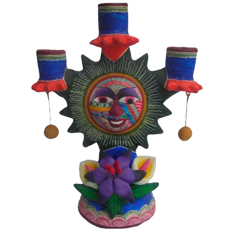 artesanias candelero sol