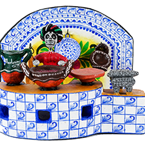 artesanias cocina poblana