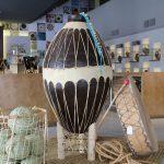 Olla de barro tarahumara gigante