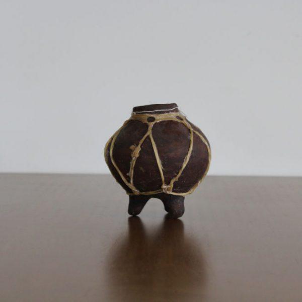 Olla de barro tarahumara mini