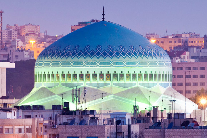King Abdullah Mosque Amman jordan Medio Oriente. Foto National Geographic