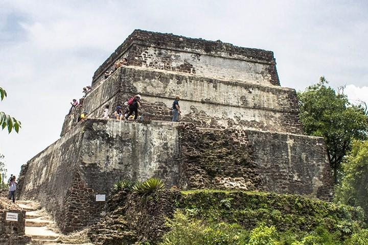 Pirámide del Tepozteco Tepoztlán y Yautepec Foto. Secretaría de Turismo