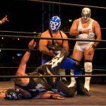 Máscaras de lucha libre. Foto Jerry Keane