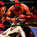 Máscaras de lucha libre. Foto Alberto Delgadillo