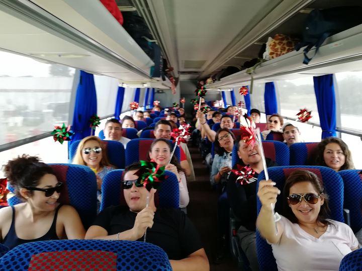 Viaje de solteros/Traslado a destino Foto: Rehiletes.com