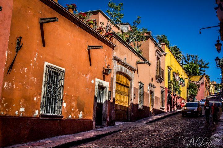 Calles de San Miguel de Allende. Foto: Gabriela Ramírez Càliz