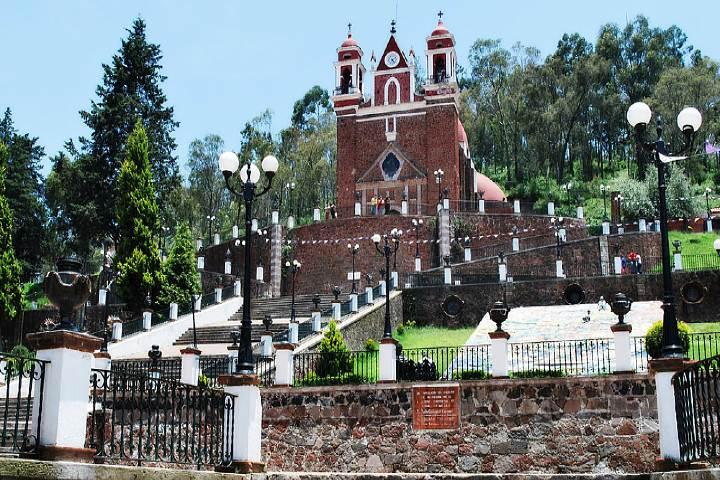 Iglesia del Calvario Metepec. Foto: Travel Report