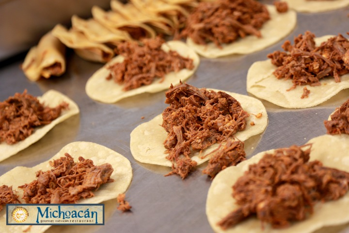 La comida de Michoacán. Foto: Michoacan Gourmet Restaurant