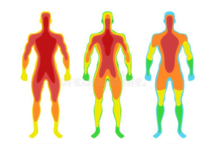 Temperatura del cuerpo. Foto: Dreamstime