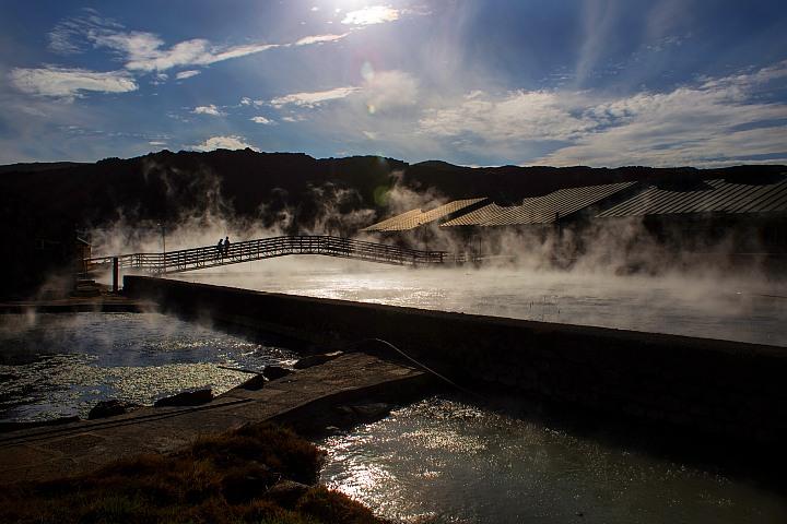 Aguas termales. Foto: Jhonny Peralta